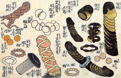Ukiyo-e Shunga Erotic Objects