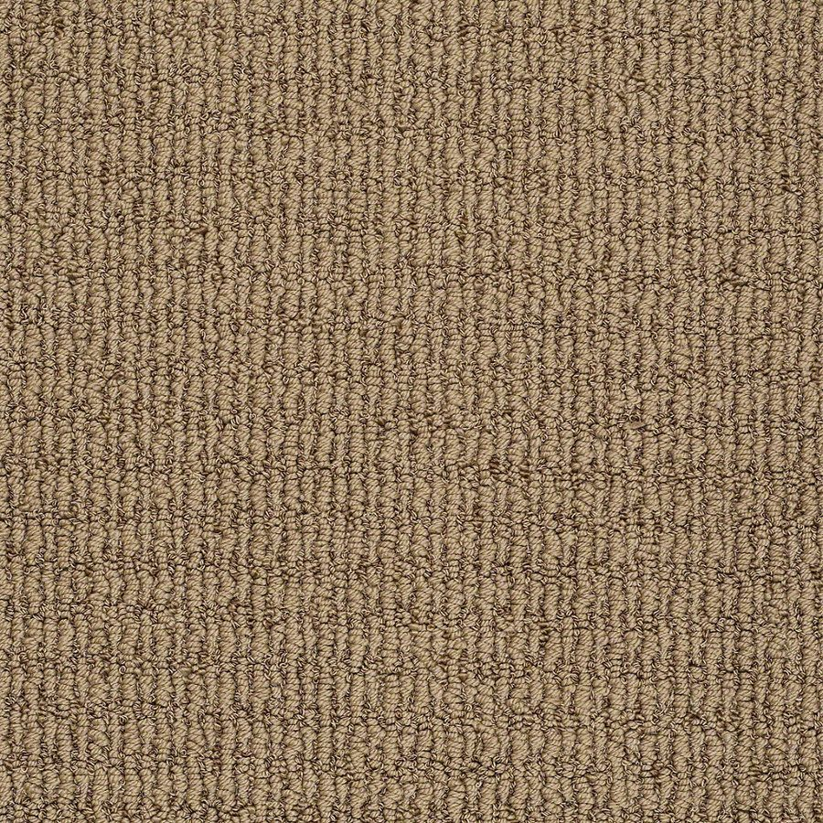 Shop STAINMASTER TruSoft Willow Bark Berber Carpet at ...
