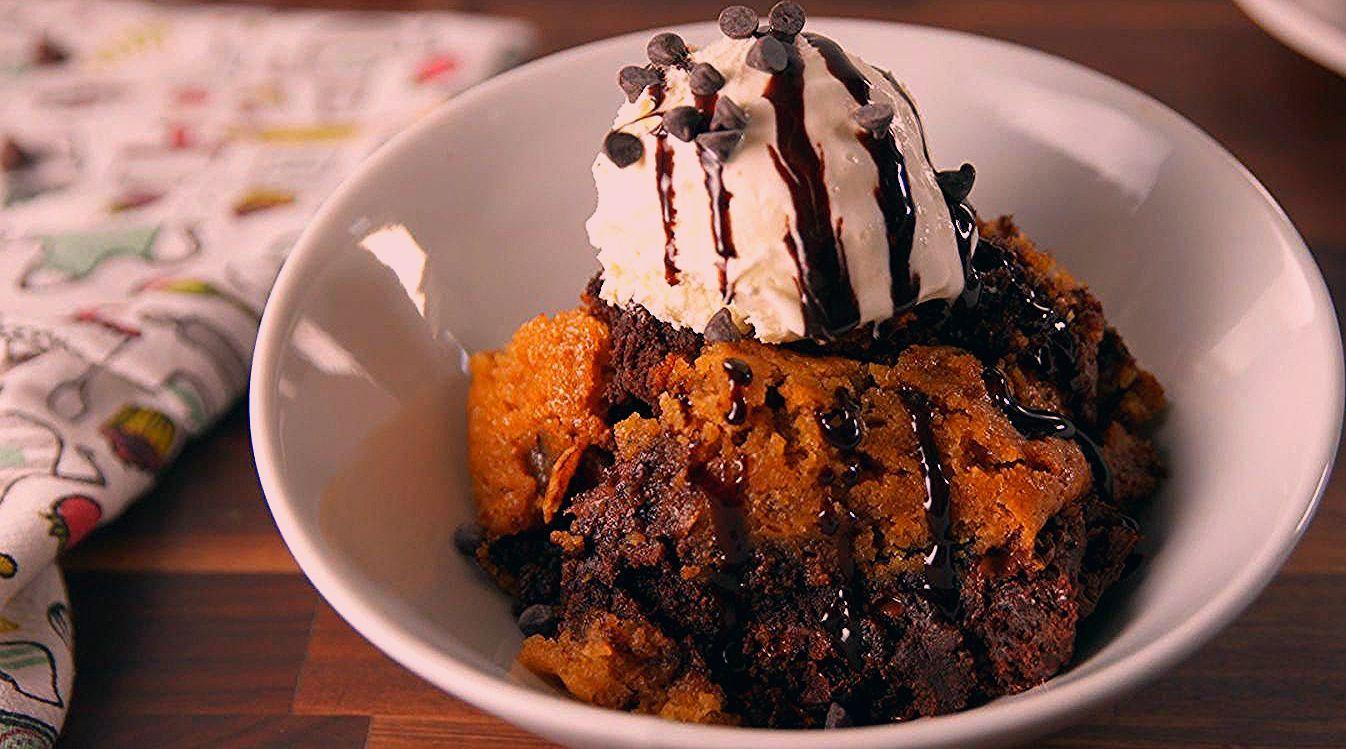 Gooey Cookie Lovers Rejoice Crock Pot Slow Cooker Dessert Cookies