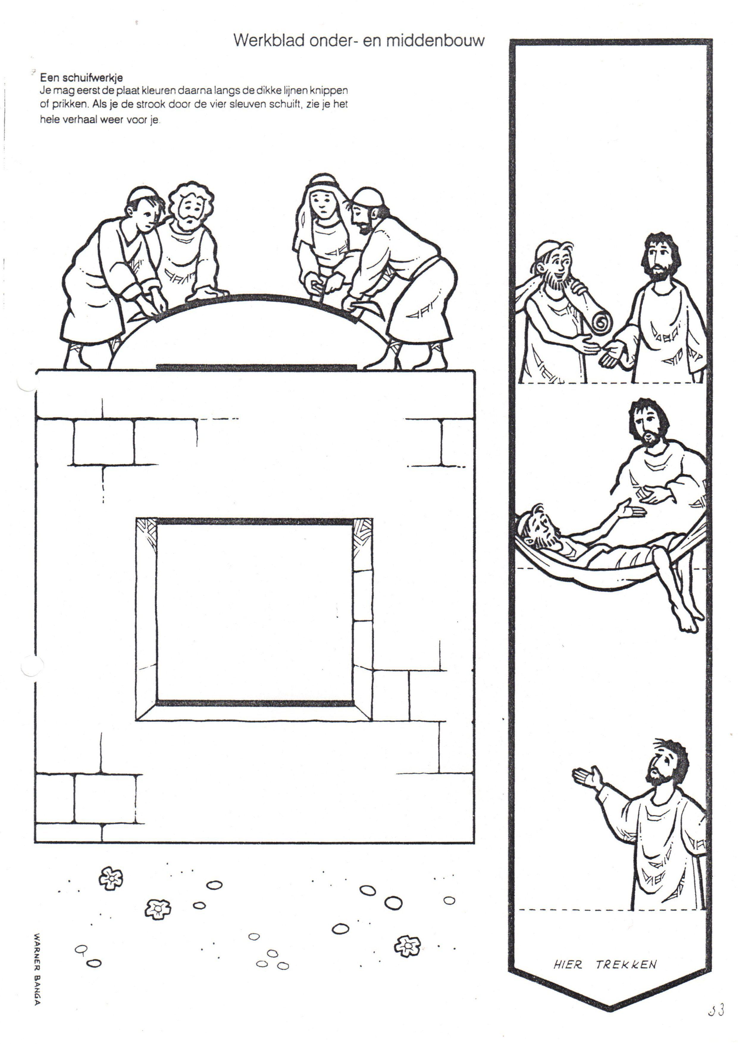 Kleuteridee Bijbelwerkjes Nt
