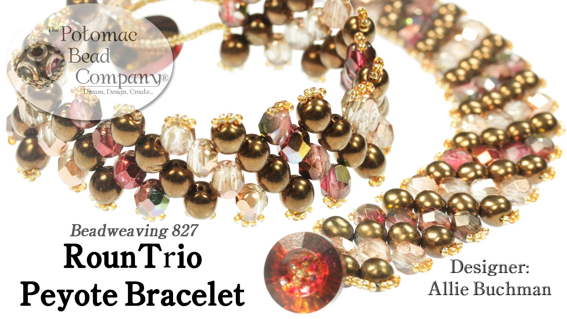 This video tutorial from potomac bead company designer u cofounder
