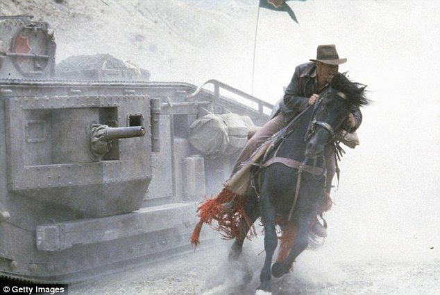 Image result for Indiana jones horse last crusade tank