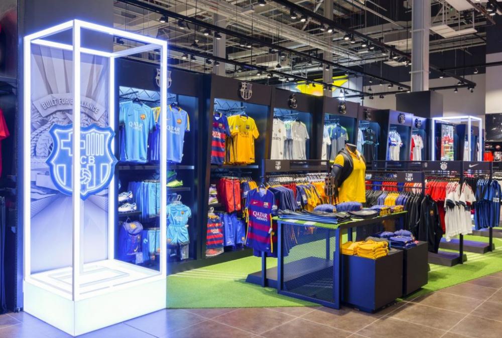 Retail Designs Go Sport, Mall of the Emirates Dubai