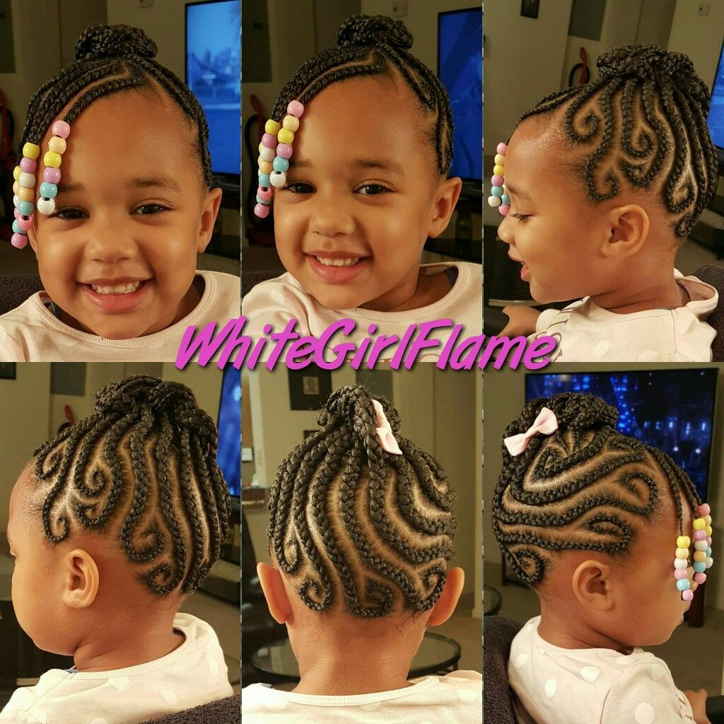 Pin by zuri saunders on little girl hairstyles pinterest hair