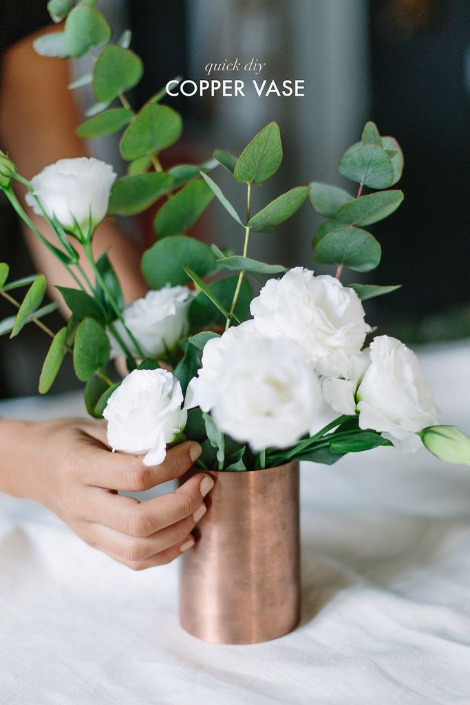 8 beautiful diy vases pinterest white flower arrangements lately i have become a bit obsessed with flowers and plants in my home whether theyre real or fake they just bring such a beautiful colorful life to any mightylinksfo