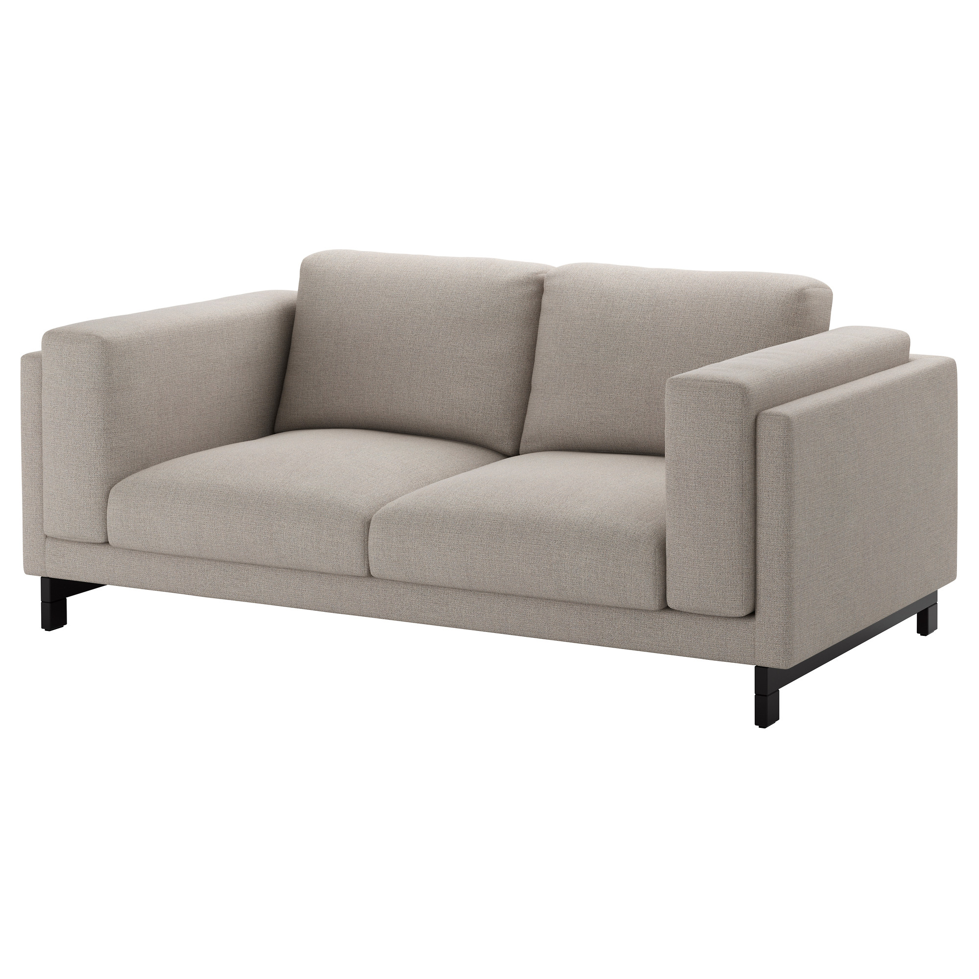 2er Sofas Ikea Nockeby Legs For Loveseat Wood Sofa Pinterest Sofa