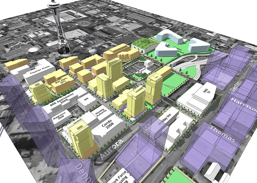 South Lake Union and Uptown Urban Design