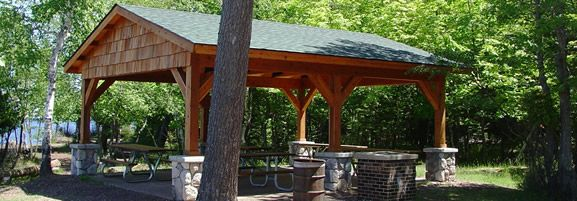 Swell Picnic Shelter Plans City Of Marquette Mi Presque Isle Pdpeps Interior Chair Design Pdpepsorg