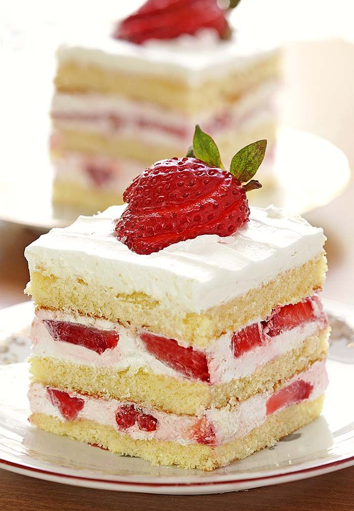 Easy Strawberry Shortcake - Sugar Apron