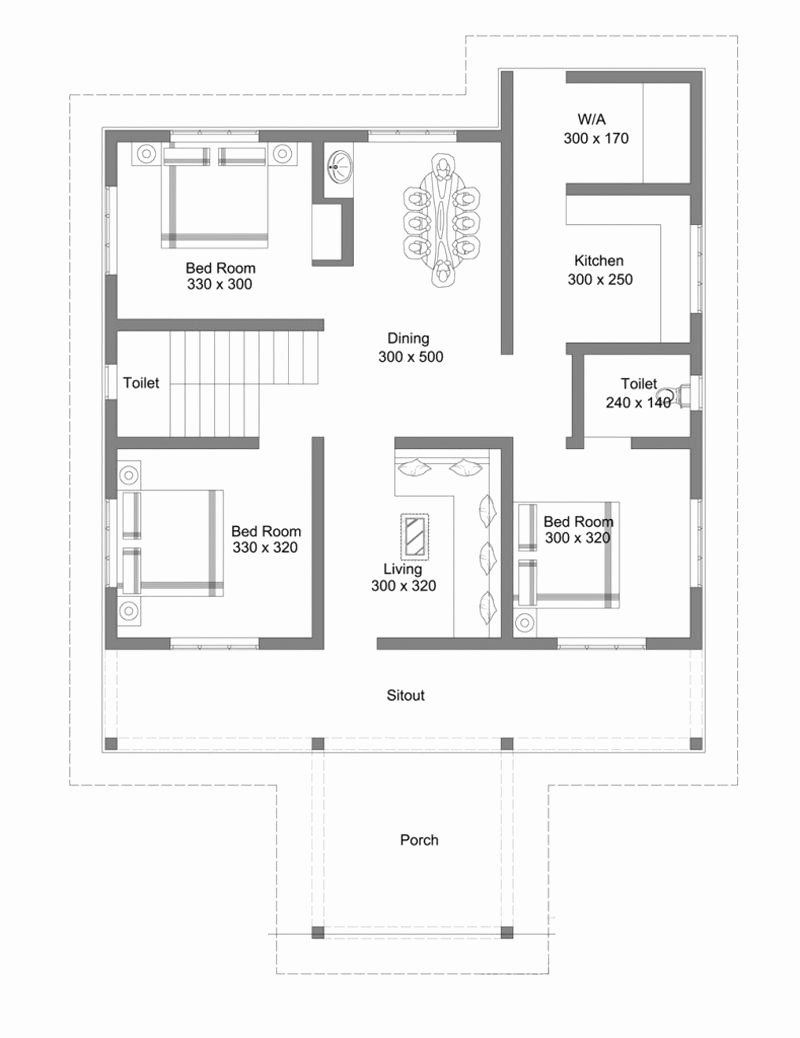 Basic House Plans Free Elegant Beautiful Single Floor House With Roof Deck In 2020 Model House Plan Floor Plan Design House Floor Plans