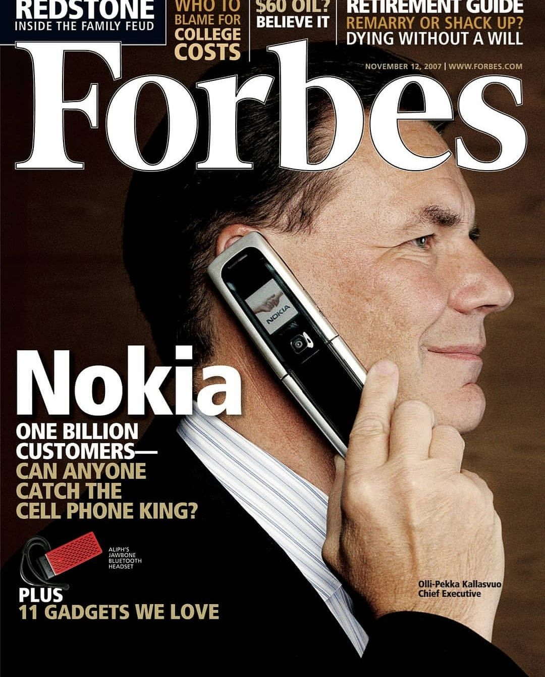Forbes Cover in 2007 #vintageads #Ads #vintage #PrintAd # ...