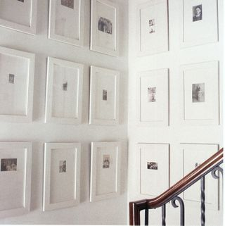 White Wall Frames white picture frames. all black and white pictures in white frames
