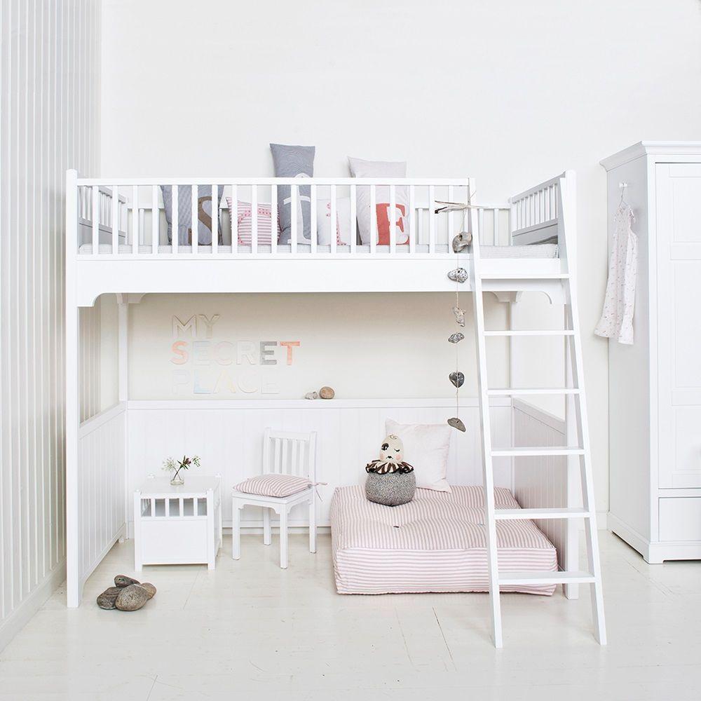 4 bedroom loft  CHILDRENuSLUXURYLOFTBEDinWhite  Sydneyus room ideas
