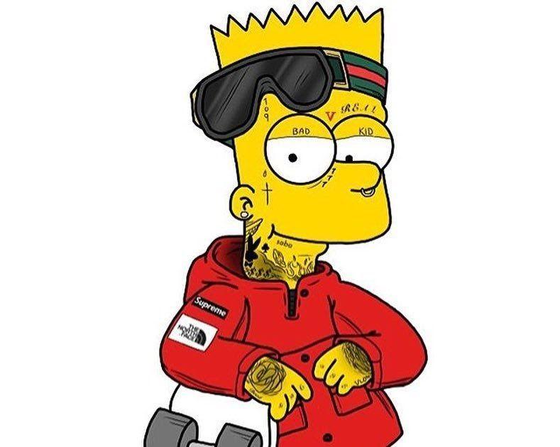 27 Wallpaper Animasi Supreme Download 4400 Koleksi Wallpaper Animasi Supreme Hd Paling Supreme Video Wallpapers For Andro Bart Simpson Art Simpsons Art Bart Cartoon cool supreme wallpapers