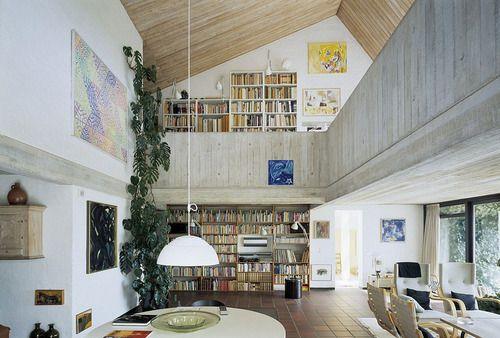 10x Open Boekenplanken : Atelier and guest house by c.f. møller architects home deco
