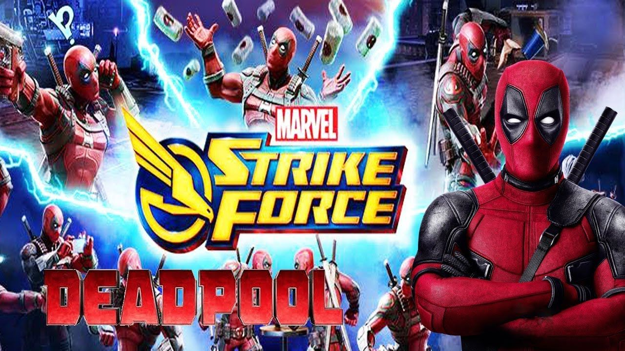 Deadpool - Marvel Strike Force In The Merc With A Mouth