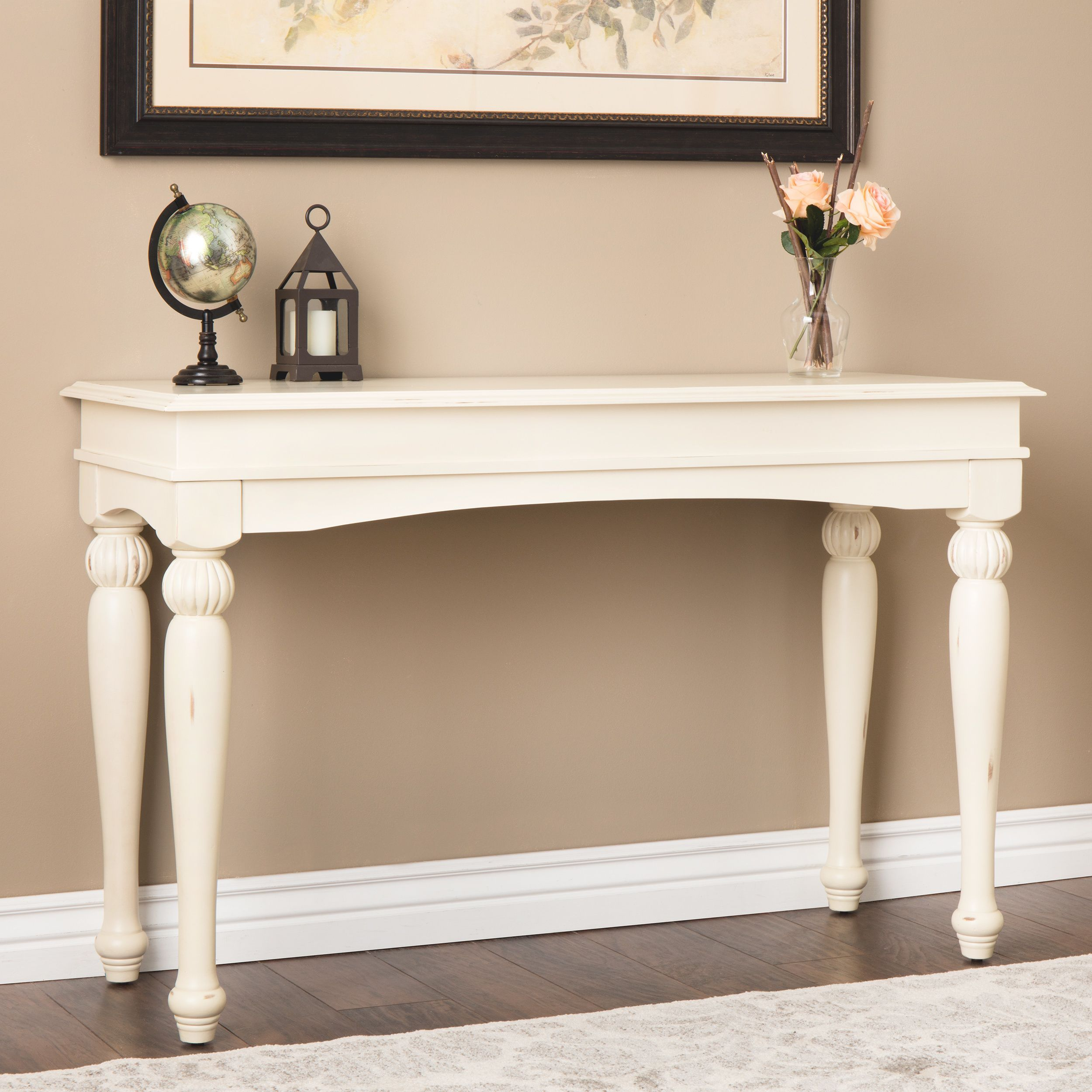 the gray barn vanilla wasatch sofa table vanity accessories rh pinterest com