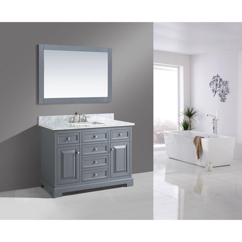 urban furnishing rochelle 48 in single bathroom vanity set with rh pinterest it