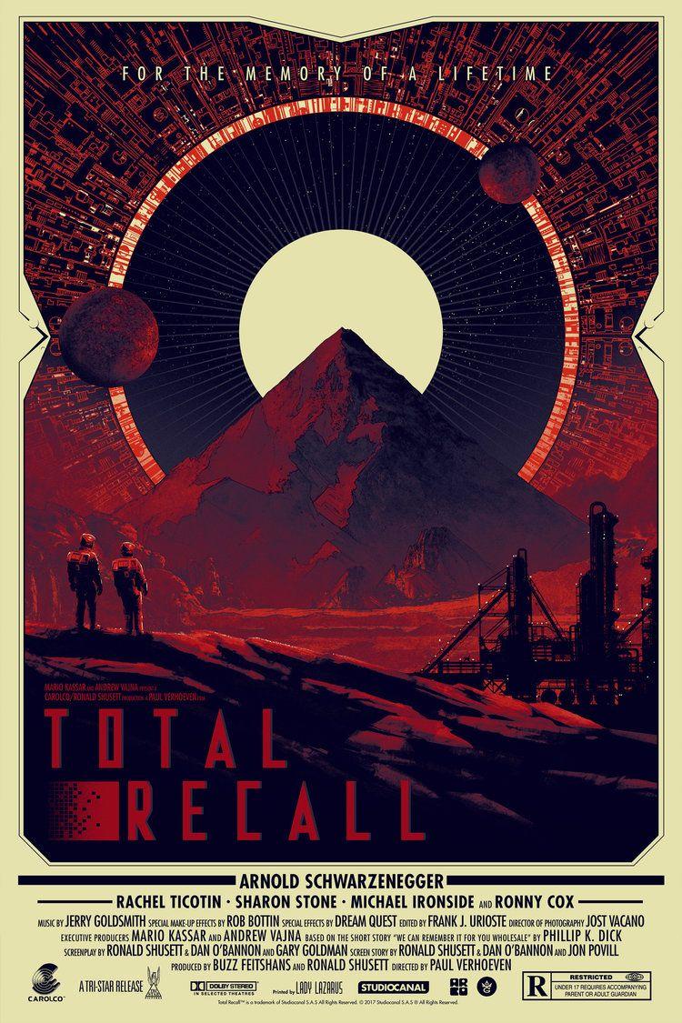 Totalrecall Reg Jpg 750 1125 Alternative Movie Posters Movie Posters Poster
