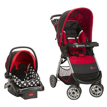 Bring A Little Magic To Your Strolls With The Disney Baby Amble Quad Travel System Featuring Infant Car Seat Stay In Base And Lightwe