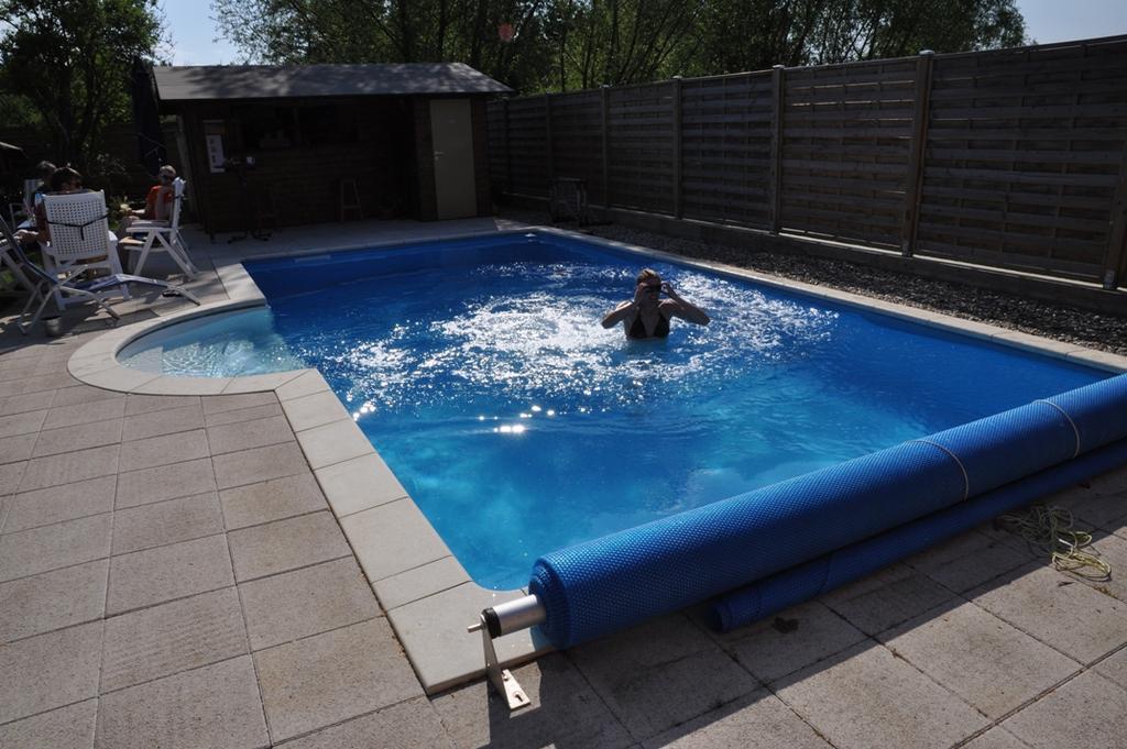 Schwimmbad Selbstbau: Pool Heizung Und Schwimmbecken: Viel Geld Sparen Durch