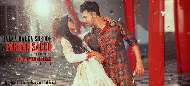 Download Audio Farhan Saeed Halka Halka Suroor Official Music Video Viewscraze Music Videos Music Cover Songs
