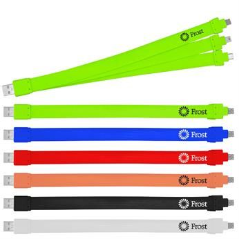 • Wide noodle 3-in-1 charging cord  • For Iphone 5/6, Micro USB, Mini USB  • Patent pending