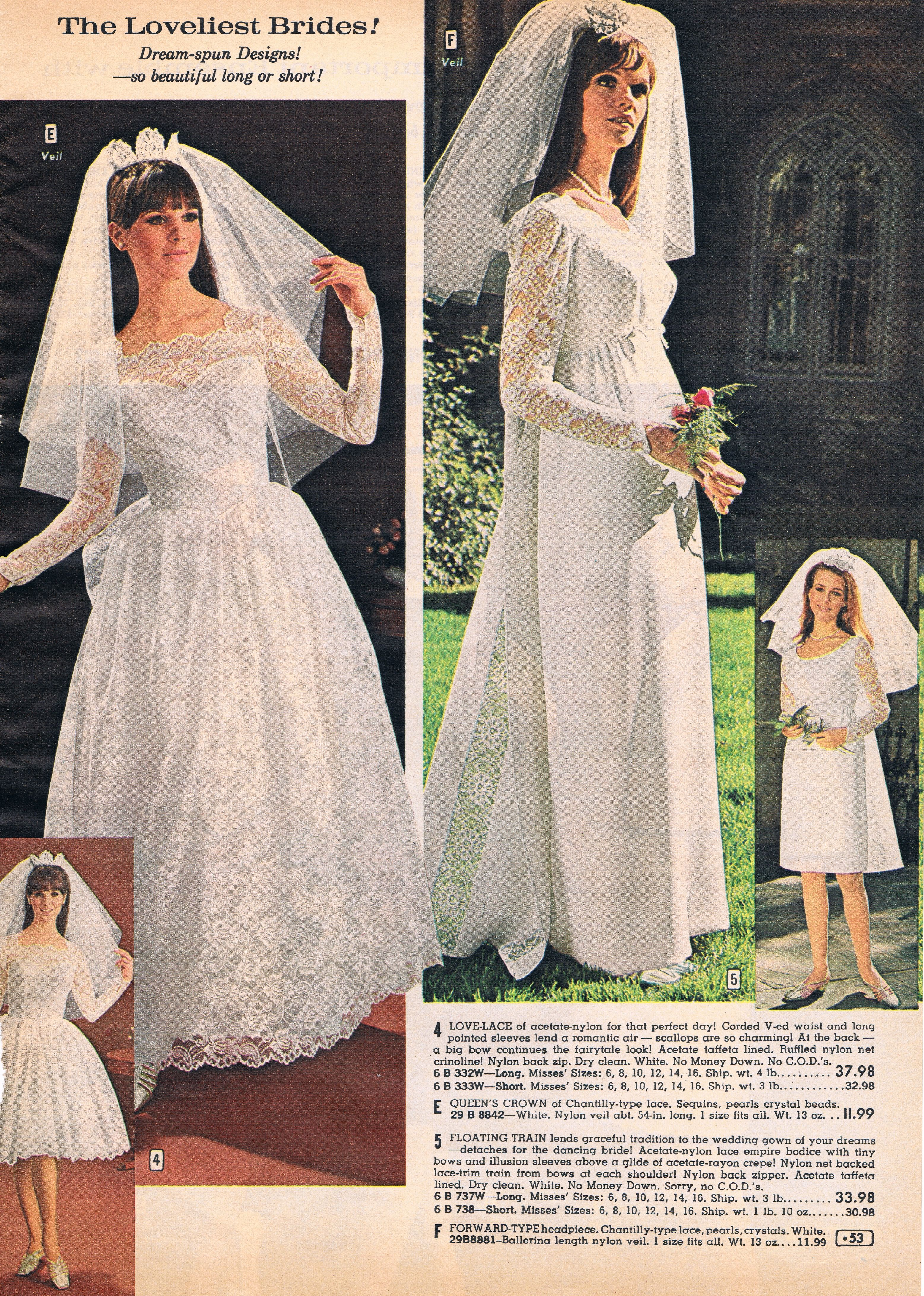 Aldens catalog 60s | Wedding gowns, dress etc | Pinterest ...