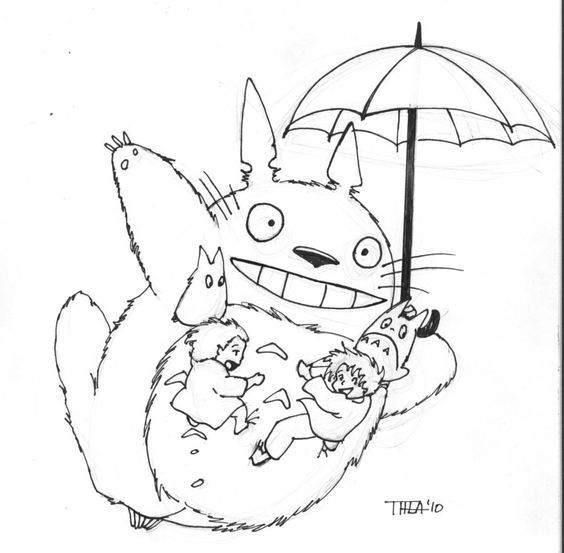 Pin By Spetri On My Neighbor Totoro Pinterest Totoro Coloring