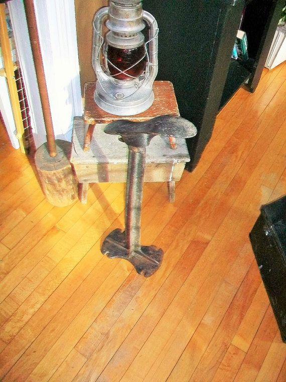 Antique Cobbler's Anvil Shoe Form Cast Iron by RedRiverAntiques