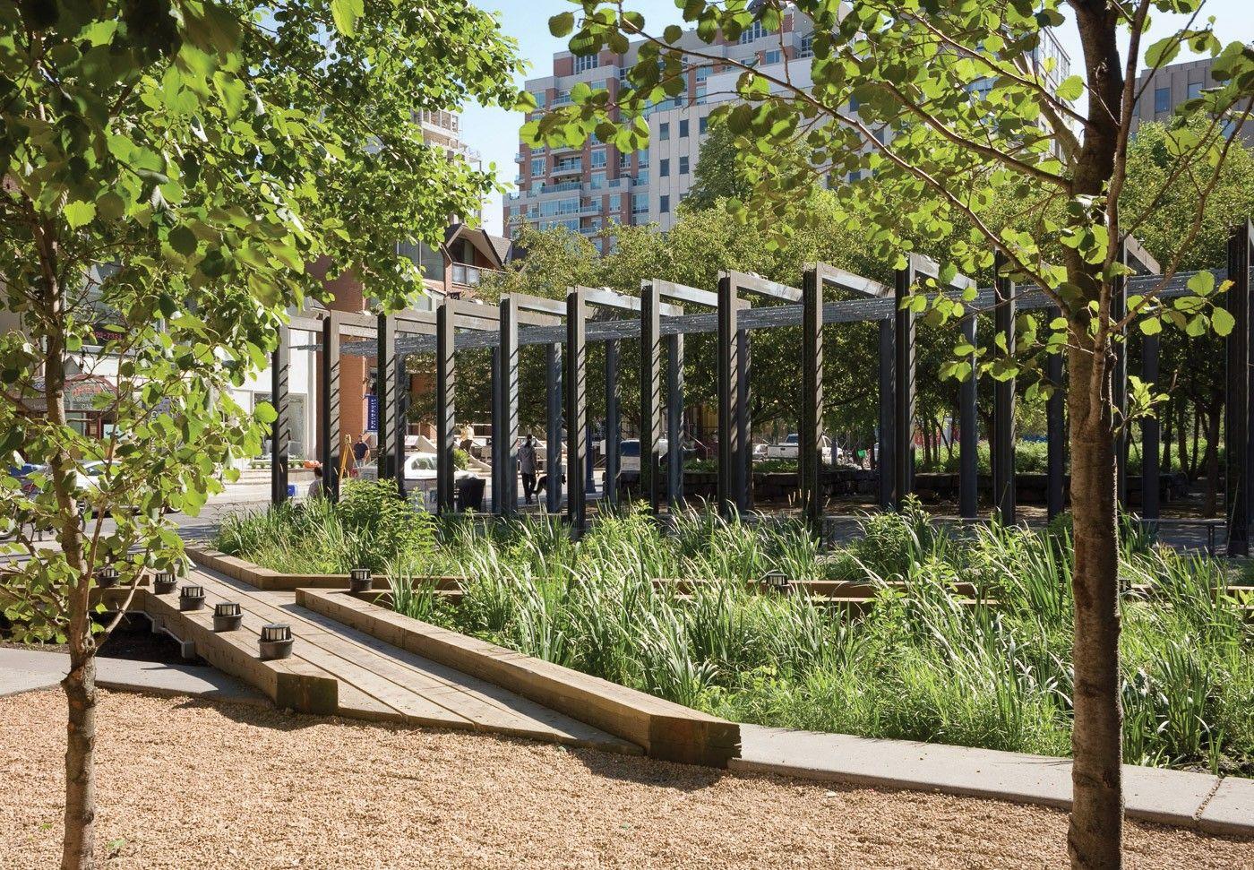 Village Of Yorkville Park Landscape Concept Landscape Architect