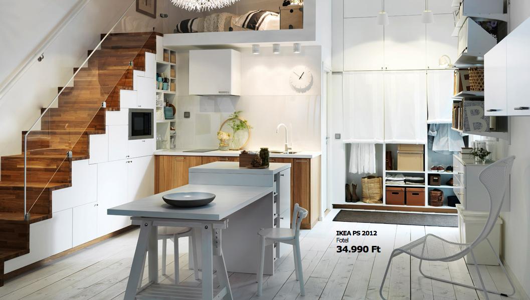 Small apartment design by IKEA   artruc   Pinterest