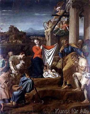 Polidoro da Caravaggio - Nativity