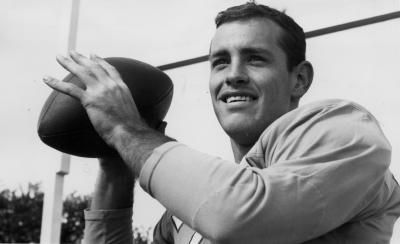Former Browns backup quarterback Archie Roberts barely made a mark on the game during his three-year career. He saved that for the lives of former players.