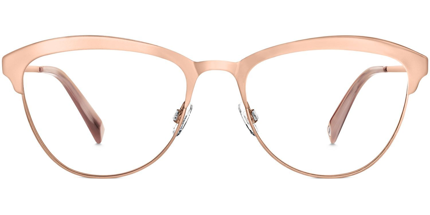c2dbdb8c194 Louise Metal Eyeglasses in Rose Gold for Women. With the same cat-eye  silhouette and elegance that makes Louise so appealing