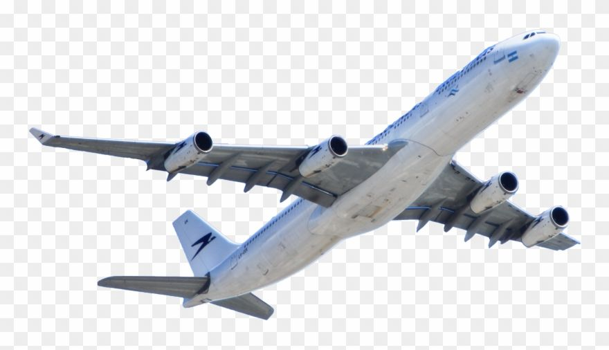Download Hd White Passenger Plane Flying Transparent Background Plane In The Sky Png Clipart And Use The Free Cli Passenger Planes Png Transparent Background