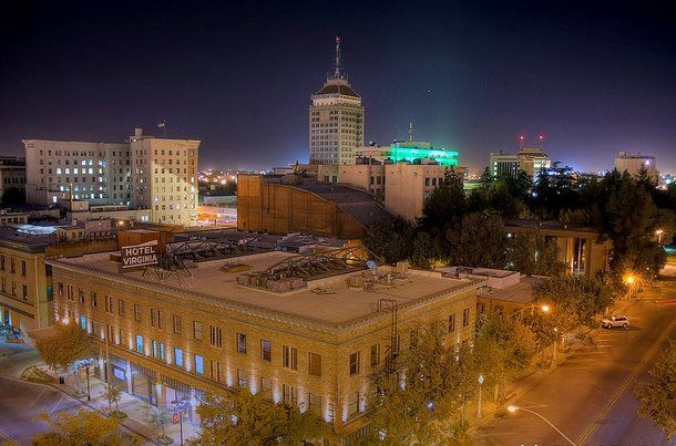 Downtown Fresno at night GORGEOUS! In My Ears and In My Eyes - fresh fresno county hall of records birth certificate