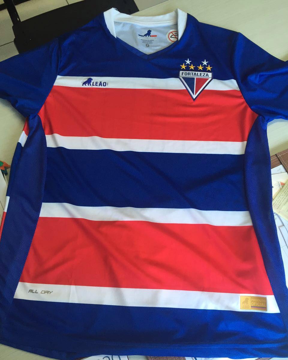 Leão 1918 + Camisas do Fortaleza EC 2016-2017  89dee184baf6a