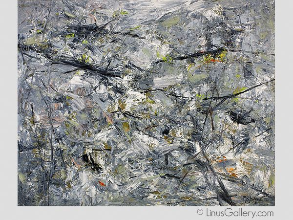 Abstracts 2015 Artist Hai Pham | Spring In Mountain | Oil Painting