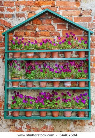 flower collection, mini terra cottas