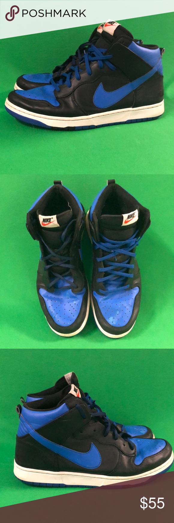 promo code a75c3 b7e36 Nike Dunk High CMFT Black & Lyon Blue sneakers Nike Dunk High CMFT Black &  Lyon