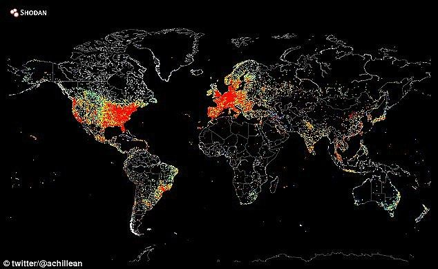 Map reveals the extent of internet use around the globe map map reveals the extent of internet use around the globe gumiabroncs Images