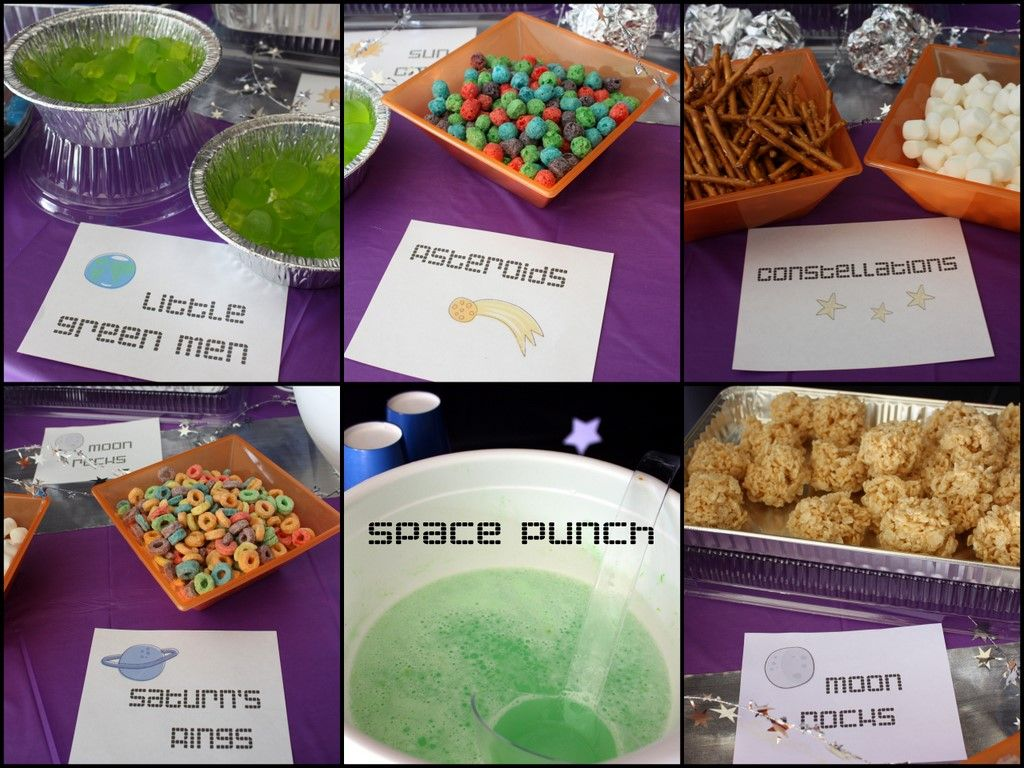 Casa De Cupcake Space Tastic Party The Food