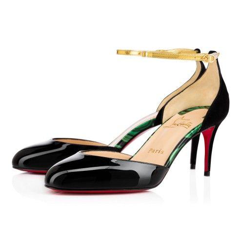 0960240c6876 Souliers Femme - Rounditown Vernis specchio - Christian Louboutin ...