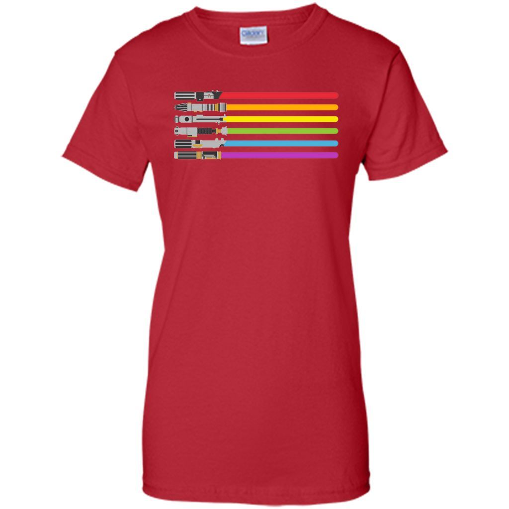 lightsaber rainbow T-Shirt