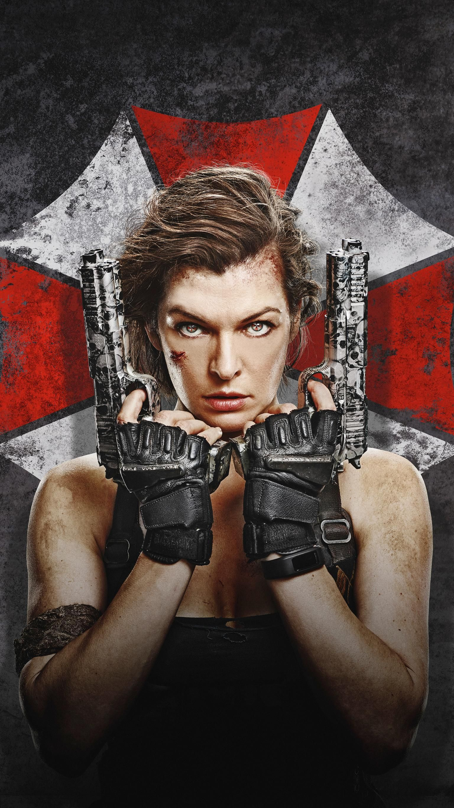 Resident Evil The Final Chapter 2016 Phone Wallpaper Em 2020