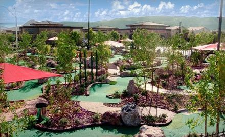Groupon - Four- or Eight-Round Mini-Golf Outing at The Putt Park Miniature Golf Course (Up to 57% Off). Groupon deal price: $16.00