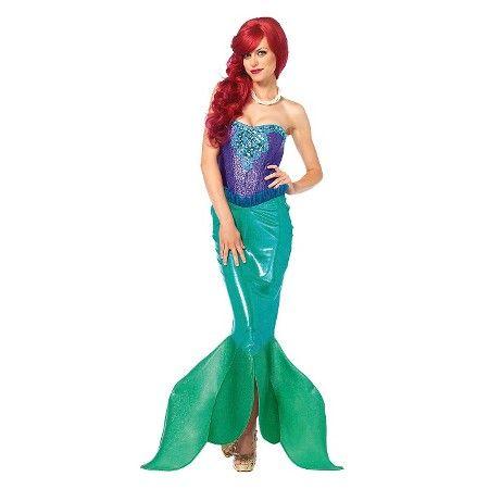 Womenu0027s Deep Sea Siren Mermaid Costume  Target  sc 1 st  Pinterest & Womenu0027s Deep Sea Siren Mermaid Costume : Target | Halloween Costumes ...