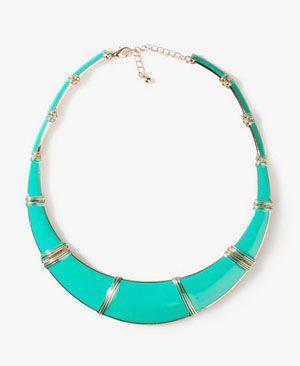 Bib statement necklace