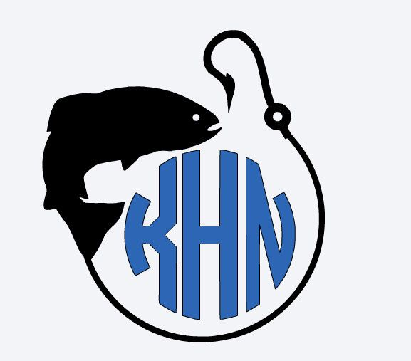 A Personal Favorite From My Etsy Shop Httpswwwetsycomlisting - Cool custom vinyl decals for carsfish hook die cut vinyl decal pv projects pinterest fish